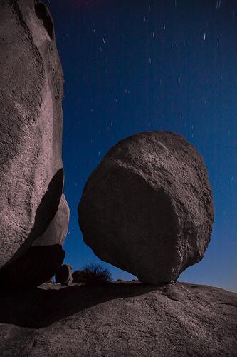 Balance of rocks