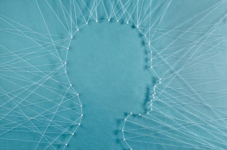 Brain String Outline