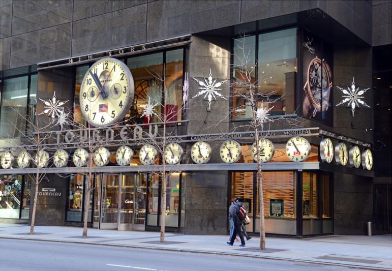 Holiday Shopping Storefront