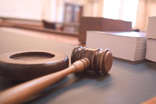 Judge podium