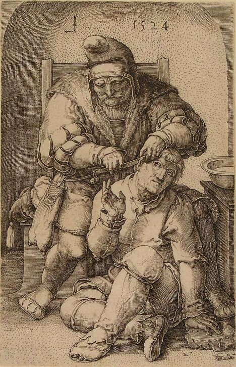 Lucas van Leyden barber-surgeon