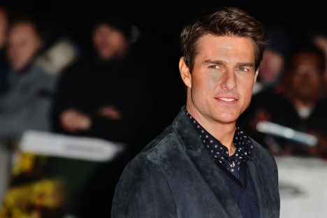 Tom Cruise at movie premiere