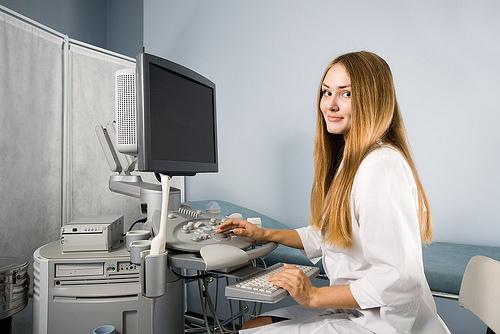 Ultrasound setup